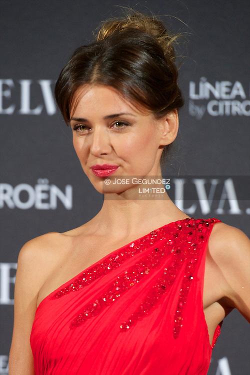 Natasha Yarovenko attends Telva Awards 2012 at Hotel Palace on November 6, 2012 in Madrid, Spain