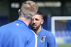 Liam Sercombe of Bristol Rovers inspects the pitch before kick off  Mandatory by-line: Arron Gent/JMP - 19/04/2019 - FOOTBALL - Cherry Red Records Stadium - Kingston upon Thames, England - AFC Wimbledon v Bristol Rovers - Sky Bet League One