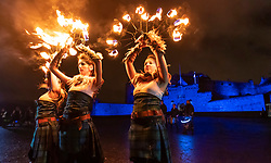 The traditional curtain-raiser to the Edinburgh Hogmanay celebrations, the torchlight procession, lights up the streets of Edinburgh led by PyroCeltica