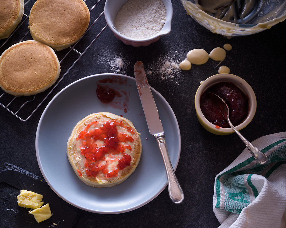 Pancakes, Brechin, Scotland