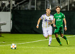 Savic Stefan of NK Olimpija Ljubljana vs Denis Klinar of NK Maribor during a football game between NK Olimpija Ljubljana and NK Maribor in Final Round (18/19)  of Pokal Slovenije 2018/19, on 30th of May, 2014 in Arena Z'dezele, Ljubljana, Slovenia. Photo by Matic Ritonja / Sportida