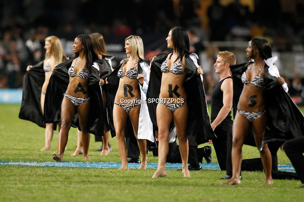 Sharks girls during the Super 15 match between the Sharks and the Bulls played in Durban on the 21 May 2011..Photo by: SPORTZPICS