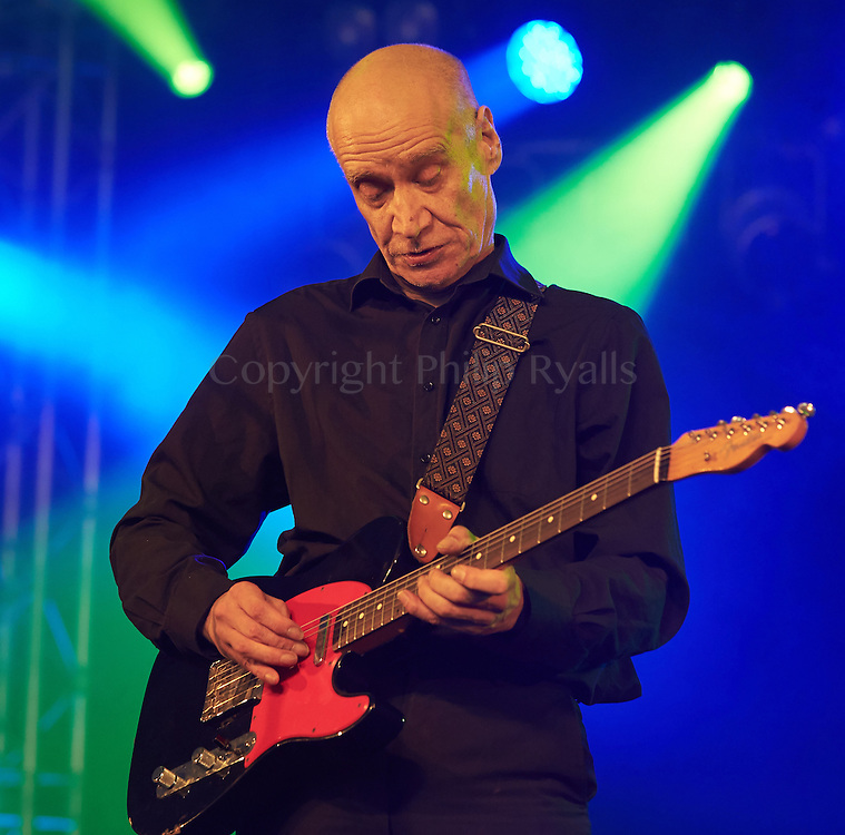 OXFORDSHIRE, UK - JULY 08: Wilko Johnson performs on stage at The Cornbury Music Festival on July 8th, 2016 in Oxfordshire, United Kingdom. (Photo by Philip Ryalls)**Wilko Johnson