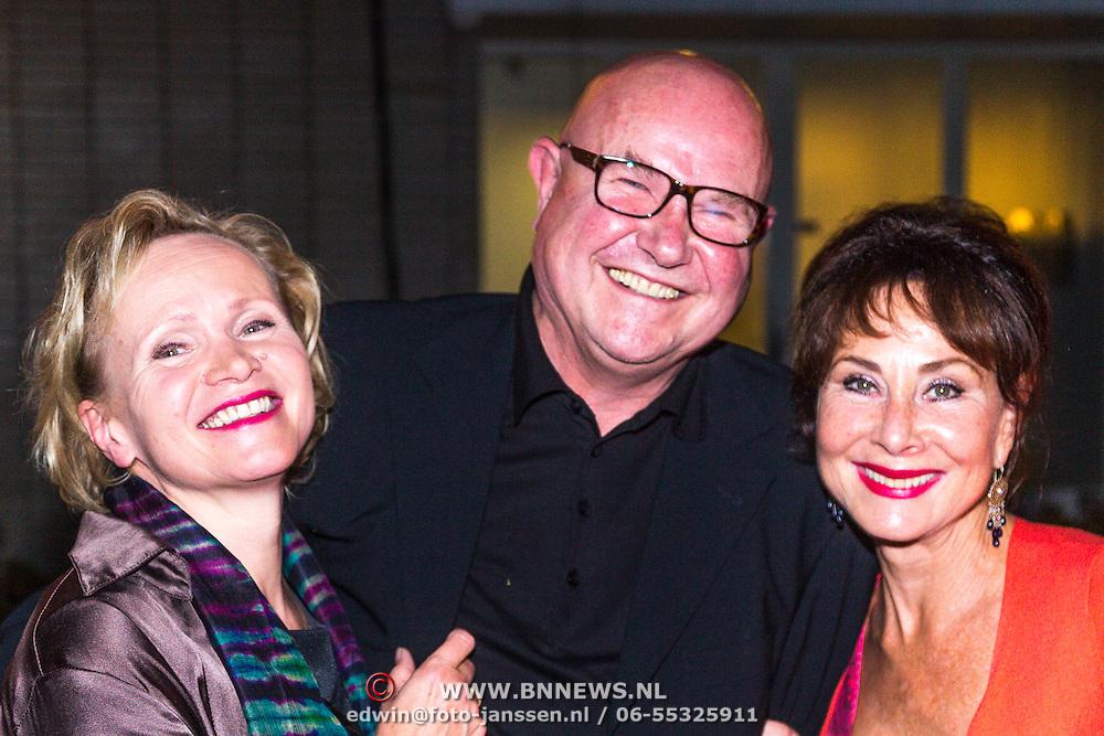 NLD/Utrecht/20130925 - Opening NFF 2012 - premiere Hoe Duur was de Suiker, renee Soutendijk, partner Ted Lenssen en Caroline de Bruijn