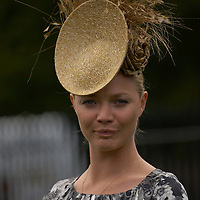 Model Jodie Kidd (Cover of Elle America) at Ladies Day, Royal Ascot 2007, Thursday 21st Jun 2007