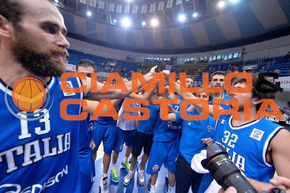 DESCRIZIONE : Mosca Moscow Qualificazione Eurobasket 2015 Qualifying Round Eurobasket 2015 Russia Italia Russia Italy<br /> GIOCATORE : Team<br /> CATEGORIA : Mani Timeout<br /> EVENTO : Mosca Moscow Qualificazione Eurobasket 2015 Qualifying Round Eurobasket 2015 Russia Italia Russia Italy<br /> GARA : Russia Italia Russia Italy<br /> DATA : 13/08/2014<br /> SPORT : Pallacanestro<br /> AUTORE : Agenzia Ciamillo-Castoria/GiulioCiamillo<br /> Galleria: Fip Nazionali 2014<br /> Fotonotizia: Mosca Moscow Qualificazione Eurobasket 2015 Qualifying Round Eurobasket 2015 Russia Italia Russia Italy<br /> Predefinita :
