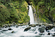 Giant Gate Falls, Milford Track, Fiordland