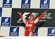 Grand prix de Bahraïn 2010..Circuit de shakir. 14 mars 2010..Course..Photo Stéphane Mantey/ L'Equipe. *** Local Caption *** alonso (fernando) - (esp) -