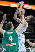 DESCRIZIONE : Kaunas Lithuania Lituania Eurobasket Men 2011 Quarter Final Round Spagna Slovenia Spain Slovenia<br /> GIOCATORE : Pau Gasol<br /> CATEGORIA : tiro penetrazione<br /> SQUADRA : Spagna Slovenia Spain Slovenia<br /> EVENTO : Eurobasket Men 2011<br /> GARA : Spagna Slovenia Spain Slovenia<br /> DATA : 14/09/2011<br /> SPORT : Pallacanestro <br /> AUTORE : Agenzia Ciamillo-Castoria/M.Metlas<br /> Galleria : Eurobasket Men 2011<br /> Fotonotizia : Kaunas Lithuania Lituania Eurobasket Men 2011 Quarter Final Round Spagna Slovenia Spain Slovenia<br /> Predefinita :