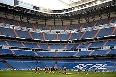 20131001 FC København træning og pressemøde på Bernabeu Stadion, Madrid