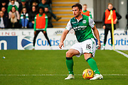 Lewis Stevenson of Hibernian FC during the Ladbrokes Scottish Premiership match between St Mirren and Hibernian at the Simple Digital Arena, Paisley, Scotland on 29th September 2018.