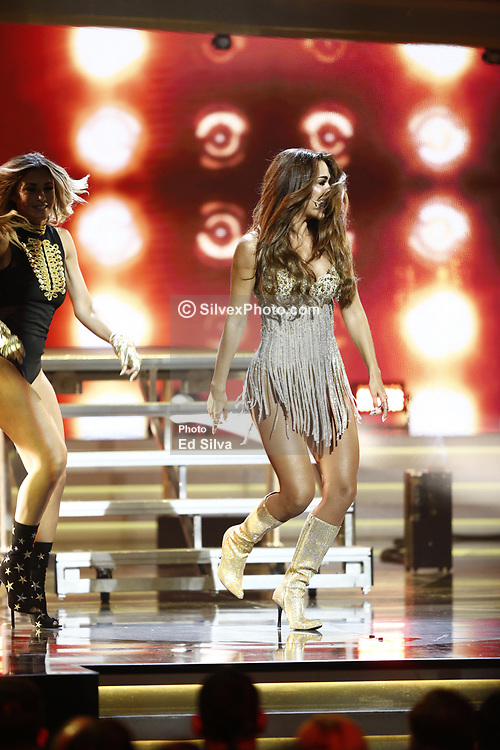 LOS ANGELES, CA - JULY 15: Ninel Conde performs live on stage at Univision Deportes' Balon De Oro 2017 Awards at The Orpheum Theatre in Los Angeles, California on July 15, 2017 in Los Angeles, California. Byline, credit, TV usage, web usage or linkback must read SILVEXPHOTO.COM. Failure to byline correctly will incur double the agreed fee. Tel: +1 714 504 6870.