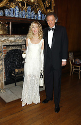 RICHARD & BASIA BRIGGS at a fundraising dinner in aid of the Hoedspruit Endangered Species Foundation in the presence of TRH Rrince & Princess Michael of Kent at Kensington Palace, London on 2nd March 2006.<br /><br />NON EXCLUSIVE - WORLD RIGHTS