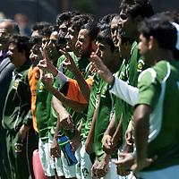 MELBOURNE - Champions Trophy men 2012<br /> India v Pakistan<br /> foto: Pakistan wins third place.<br /> <br /> FFU PRESS AGENCY COPYRIGHT FRANK UIJLENBROEK