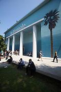 """Giardini, Palazzo delle Esposizioni. International exhibition """"Fare Mondi // Making Worlds // Bantin Duniyan // ???? // Weltenmachen // Construire des Mondes // Fazer Mundos..."""" curated by Daniel Birnbaum."""