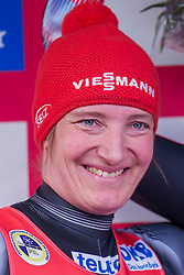 26.11.2016, Winterberg, GER, Viessmann Rennrodel Weltcup, Winterberg, Damen, Einsitzer, im Bild Tatjana Huefner, GER // during women's single seater of Viessmann Luge World Cup. Winterberg, Germany on 2016/11/26. EXPA Pictures © 2016, PhotoCredit: EXPA/ Rolf Kosecki<br /> <br /> *****ATTENTION - OUT of GER*****