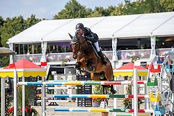 RÜDER Hans Thorben (GER), COMPAGNON 9<br /> Münster - Turnier der Sieger 2019<br /> Grosser Preis von Münster <br /> BEMER Riders Tour Etappenwertung<br /> CSI4* - Int. Jumping competition over 2 rounds (1.60 m)<br /> 04. August 2019<br /> © www.sportfotos-lafrentz.de/Stefan Lafrentz