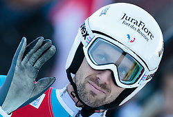 20.12.2015, Nordische Arena, Ramsau, AUT, FIS Weltcup Nordische Kombination, Skisprung, im Bild Maxime Laheurte (FRA) // Maxime Laheurte of France during Skijumping Competition of FIS Nordic Combined World Cup, at the Nordic Arena in Ramsau, Austria on 2015/12/20. EXPA Pictures © 2015, PhotoCredit: EXPA/ JFK