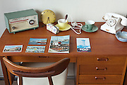 1960s style hotel table display Rotterdam Netherlands