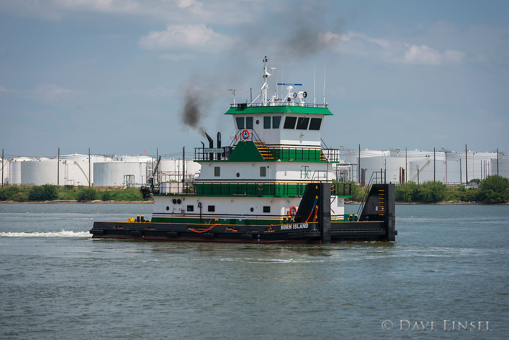 The M/V Horn Island at the Higman Marine Services dock, August 14, 2014.