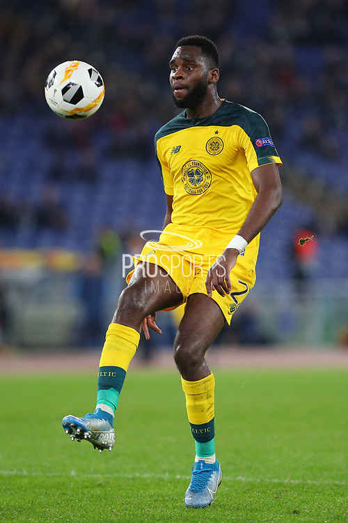 Odsonne Edouard of Celtic in action during the UEFA Europa League, Group E football match between SS Lazio and Celtic FC on November 7, 2019 at Stadio Olimpico in Rome, Italy - Photo Federico Proietti / ProSportsImages / DPPI