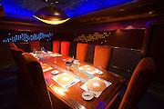 Jumeirah, Burj Al Arab, the World's most luxurious hotel. Al Mahara Seafood Restaurant.