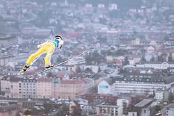 22.02.2019, Bergiselschanze, Innsbruck, AUT, FIS Weltmeisterschaften Ski Nordisch, Seefeld 2019, Skisprung, Herren, im Bild Vladimir Zografski (BUL) // Vladimir Zografski of Bulgaria during the men's Skijumping of FIS Nordic Ski World Championships 2019. Bergiselschanze in Innsbruck, Austria on 2019/02/22. EXPA Pictures © 2019, PhotoCredit: EXPA/ Dominik Angerer