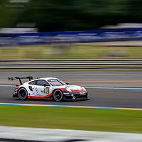 #93, Porsche Motorsport, Porsche 911 RSR, LMGTE Pro, driven by: Patrick Pilet, Nick Tandy, Earl Bamber, 24 Heures Du Mans  2018, , 14/06/2018,