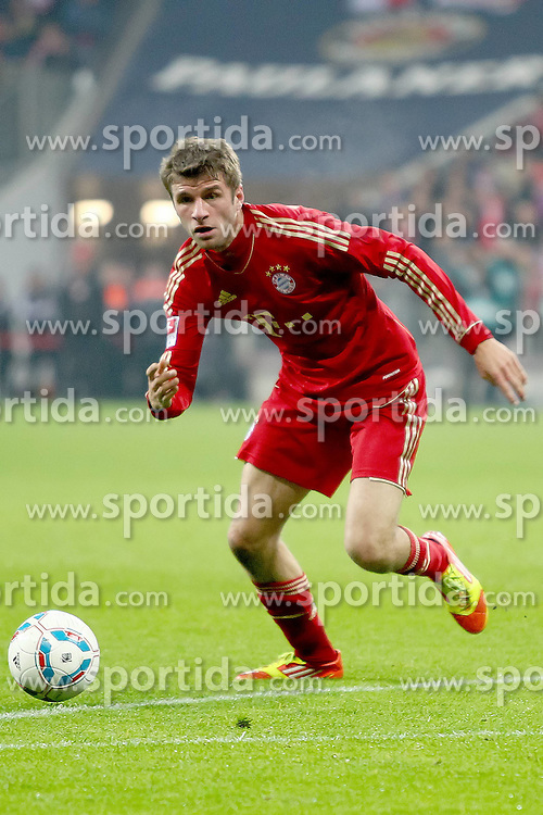 19.11.2011, Allianz Arena, Muenchen, GER, 1.FBL, FC Bayern Muenchen vs Borussia Dortmund, im Bild Thomas Mueller (Bayern #25) // during the match FC Bayern Muenchen vs  Borussia Dortmund, on 2011/11/19, Allianz Arena, Munich, Germany. EXPA Pictures © 2011, PhotoCredit: EXPA/ nph/ Straubmeier..***** ATTENTION - OUT OF GER, CRO *****