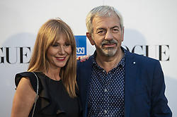 September 13, 2018 - Madrid, Spain - Carlos Sobera attends to photocall of Vogue Fashion Night Out 2018 in Madrid, Spain. September 14, 2018. (Credit Image: © Coolmedia/NurPhoto/ZUMA Press)
