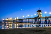 Huntington Beach, Ca, Beach, Coastline, Pier, Landscape, Summer, Beauty In Nature, Scenics, USA, Surf, Beautiful, Sea, Sky