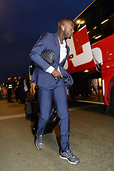 March 15, 2019 - Lille, France, FRANCE - Arrivee au Stade des joueurs Lillois.Nicolas Pepe  (Credit Image: © Panoramic via ZUMA Press)