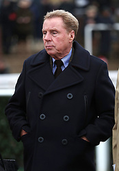 Harry Redknapp in the Spectra Cyber Security Solutions Trophy Handicap Chase during Festival Trials Day at Cheltenham Racecourse.