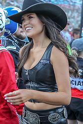 June 9, 2018 - Fort Worth, Texas, U.S - The Texas Sweethearts of United States in action before the DXC Technology 600 race at Texas Motor Speedway in Fort Worth,Texas. (Credit Image: © Dan Wozniak via ZUMA Wire)