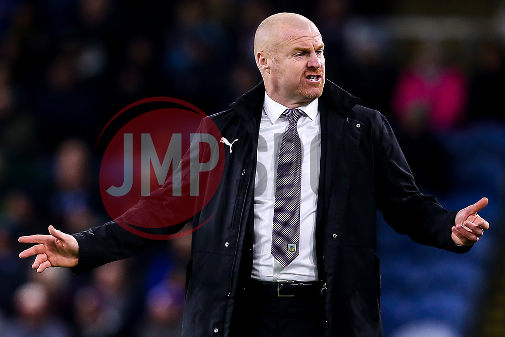 Burnley manager Sean Dyche cuts a frustrated figure - Mandatory by-line: Robbie Stephenson/JMP - 26/11/2018 - FOOTBALL - Turf Moor - Burnley, England - Burnley v Newcastle United - Premier League