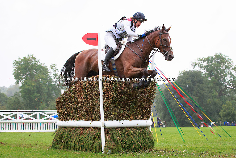 GBR-Kristina Cook rides Star Witness during the CCI4* Cross Country at the 2016 Land Rover Burghley Horse Trials (Interim-12TH). Saturday 3 September. Copyright Photo: Libby Law Photography