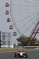 Max Chilton (GBR) Marussia F1 Team MR03.<br /> Japanese Grand Prix, Friday 3rd October 2014. Suzuka, Japan.