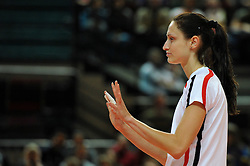 10.10.2010, Bremen Arena, Bremen, GER, Vorbereitung Volleyball WM Frauen 2010, Laenderspiel Deutschland ( GER ) vs. Tuerkei ( TUR ), im Bild Christiane Fuerst (#11 GER). EXPA Pictures © 2010, PhotoCredit: EXPA/ nph/   Conny Kurth+++++ ATTENTION - OUT OF GER +++++