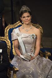 Kronprinzessin Victoria  bei der Nobelpreisverleihung 2016 in der Konzerthalle in Stockholm / 101216 ***The annual Nobel Prize Award Ceremony at The Concert Hall in Stockholm, December 10th, 2016***