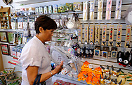 People shop at the JapanLA in Los Angeles, June 28, 2017. The cute culture shop JapanLA launched the first official U.S. Studio Ghibli pop-up, which runs until July 24. (Photo by Ringo Chiu)<br /> <br /> Usage Notes: This content is intended for editorial use only. For other uses, additional clearances may be required.