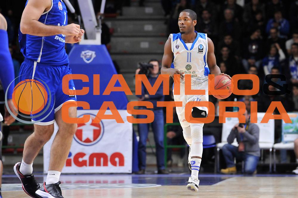 DESCRIZIONE : Eurocup 2014/15 Last 32 Gruppo H Dinamo Banco di Sardegna Sassari - Buducnost VOLI Podgorica<br /> GIOCATORE : Jerome Dyson<br /> CATEGORIA : Palleggio<br /> SQUADRA : Dinamo Banco di Sardegna Sassari<br /> EVENTO : Eurocup 2014/2015<br /> GARA : Dinamo Banco di Sardegna Sassari - Buducnost VOLI Podgorica<br /> DATA : 28/01/2015<br /> SPORT : Pallacanestro <br /> AUTORE : Agenzia Ciamillo-Castoria / Luigi Canu<br /> Galleria : Eurocup 2014/2015<br /> Fotonotizia : Eurocup 2014/15 Last 32 Gruppo H Dinamo Banco di Sardegna Sassari - Buducnost VOLI Podgorica<br /> Predefinita :