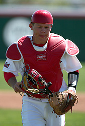 18 April 2010: Matt Mirabal.  Southern Illinois Salukis and the Illinois State Redbirds face off on Duffy Bass Field on the campus of Illinois State University in Normal Illinois.