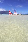 Sandbar, Kaneohe Bay, Oahu, Hawaii<br />