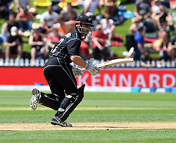 New Zealand's Kane Williamson batting against Pakistan in the fifth one day International Cricket match, Basin Reserve, Wellington, New Zealand, Friday, January 19, 2018