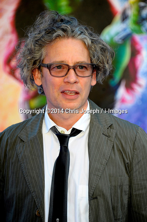 Image ©Licensed to i-Images Picture Agency. 24/07/2014. London, United Kingdom. Dexter Fletcher attends the UK Premiere of 'Guardians of the Galaxy' at Empire Leicester Square. Picture by Chris Joseph / i-Images