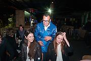 VADMIM GRIGORIAN, CHIARA FUMAIAbsolut Art Bureau Dinner at Base 13. Documenta ( 13 ), Kassel, Germany. 14 September 2012.