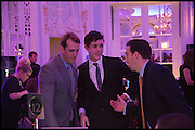 BEN ELLIOT; JONAH KING, Quintessentially Foundation Poker Night,  annual poker night,  to raise money for Right to play, Greenhouse and Place2Be. Savoy. 13 November 2014.