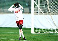 """Fotball , 5. mars 2012, Privatkamp , Fredrikstad - Hønefoss 1-2<br /> Mouhamed Gueye  , FFK <br /> """"Momo"""""""