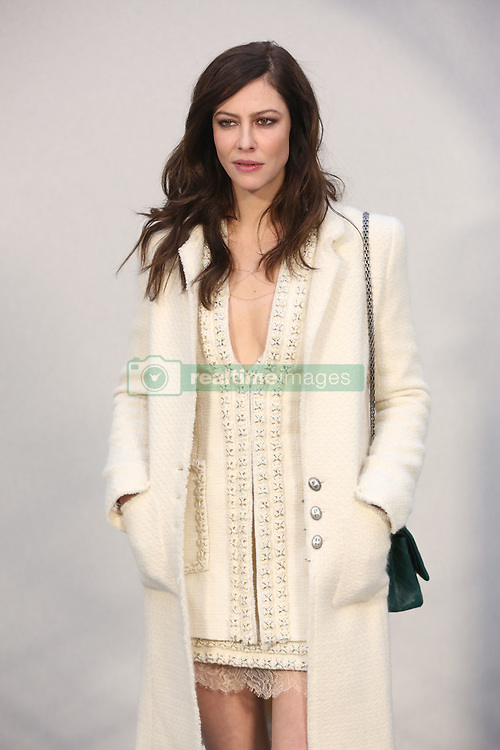Anna Mouglalis attend the Chanel Couture Spring Summer 2017 show as part of Paris Fashion Week on January 24, 2017 in Paris, France. Photo by Jerome Domine/ABACAPRESS.COM
