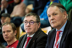Dr. Andrej Fistravec, Mayor of Maribor and Marko Umberger, president of TZS during the Day 1 of Davis Cup 2018 Europe/Africa zone Group II between Slovenia and Poland, on February 3, 2018 in Arena Lukna, Maribor, Slovenia. Photo by Vid Ponikvar / Sportida